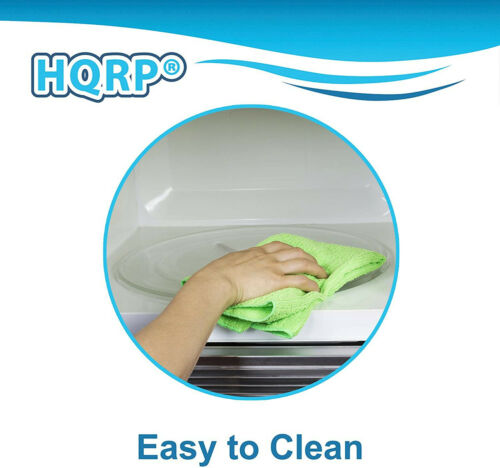 HQRP 10-inch Glass Turntable Tray for GE WB49X0688 WB49X10065 Microwave Plate