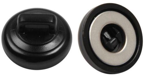 Mr Gasket 3720 G noir magnétique Petit Câble Cravate-Pack de 2