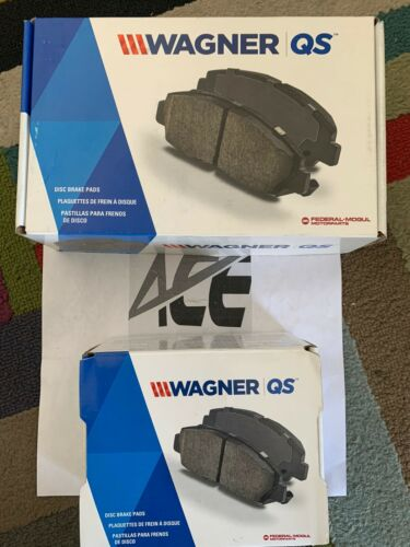 Front /& Rear 8 PCS Wagner Ceramic Disc Brake Pads Set For TOYOTA PRIUS 2010-2015