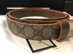 7adb7d964 Image is loading Authentic-GUCCI-Gucci-reversible-belt-387035-BTTBN-2873-