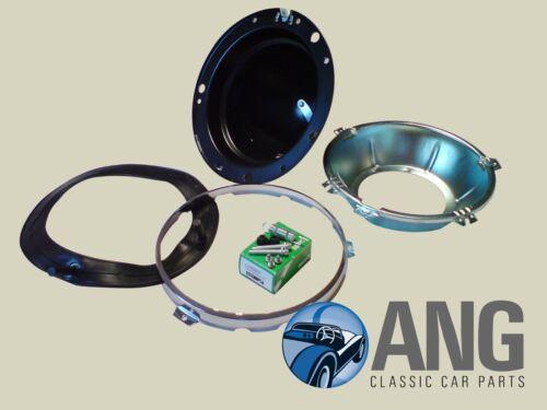 RELIANT SCIMITAR GTE/' 76 /'86 Phare Bowl /& Bordure Remplacement Kit
