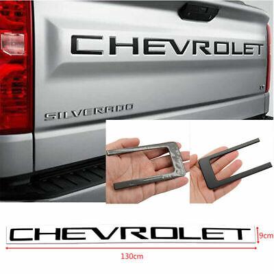 3x GENUINE BlacK HIGH COUNTRY Emblem Badges door tailgate Silverado Y New OEM
