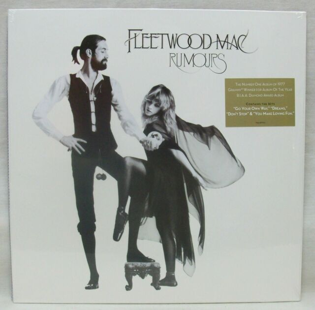 "NEW & Sealed Fleetwood Mac ""Rumours"" LP Vinyl Record (Reprise) Free Shipping"