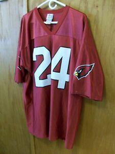 Details about NFL APPAREL Adrian Wilson Arizona Cardinals #24 Jersey Shirt ~ 2XL WORN ONCE