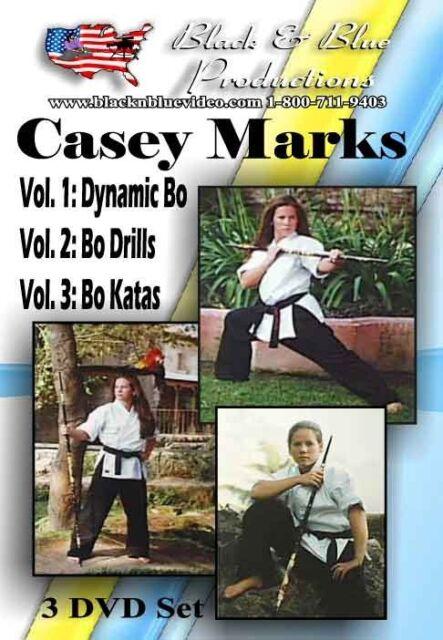 All 3 Casey Marks Bo Instructional, Basic, Drills, Kata