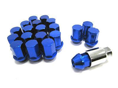 NIPPON RACING ALUMINUM WHEEL LUG NUTS 12X1.5 BLUE 20pcs