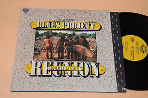 ORIGINAL-BLUES-PROJECT-2LP-1-ST-1973-REUNION-IN-CENTRAL-PARK-TOP-EX