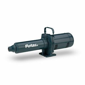 Pentair-FP5722-Flotec-0-75-HP-Multistage-Cast-Iron-High-Pressure-Booster-Pump