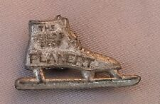 Original Antique PLANERT ICE SKATE Advertising Stud (Not Pin)