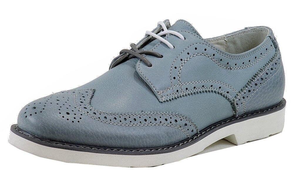 seleziona tra le nuove marche come Gbx Uomo 13461 13461 13461 Novva Moda Oxford Jeans Blu Scarpe Taglie 11  prezzi bassi