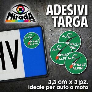 ADESIVI-STICKERS-BOLLINO-TARGA-ANA-ASSOCIAZIONE-NAZIONALE-ALPINI-AUTO-MOTO-PLATE