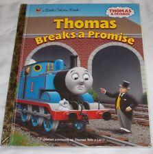 Little Golden Book Thomas The Train Breaks A Promise