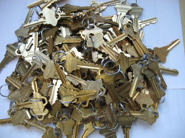 JMA SC1-DND Schlage 5 pin Keyblank Brass Finish stamped Do Not Duplicate