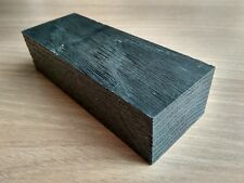 Black bog oak (morta wood) blanks for knife handles 35*50*135