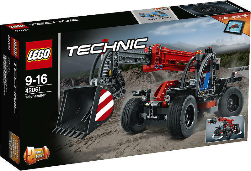 LEGO Technic (42061) Telehandler (Brand New & Factory Sealed)