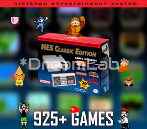 NES Classic Edition Nintendo Entertainment System Mini Console 925+ Games