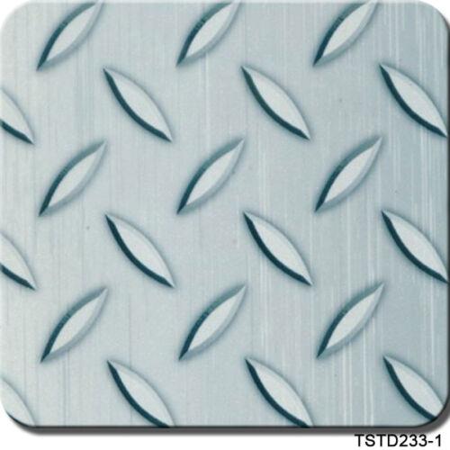 "Hydrographics Film Blue Diamond Plate 20/"" x 6.5/'"