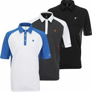 ISLAND-GREEN-LOGO-CHEST-PERFORMANCE-COOL-PASS-MENS-GOLF-POLO-SHIRT-50-OFF