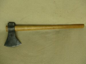 VINTAGE 3J J3 HAND FORGED THROWING TOMAHAWK -THROWING HATCHET AXE-VERY NICE COND