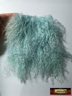 M00787-PELT MOREZMORE Tibetan Lamb Fur 8 x 8 Pelt GOLDEN BROWN Doll Puppet Hair
