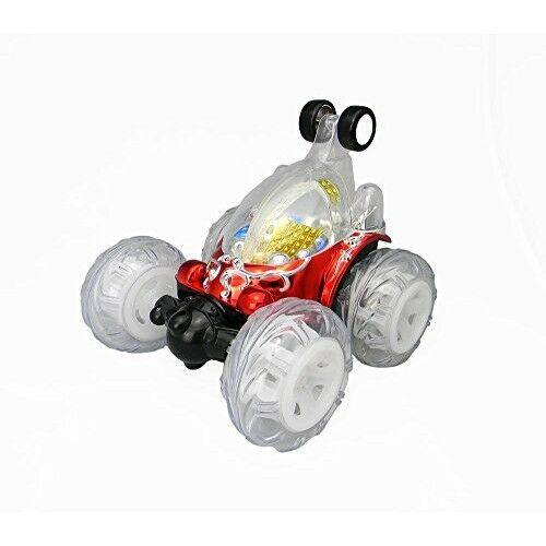 Licensed Invincible Tornado 360 Remote Control Stunt Car Light Up Toy Racing RC