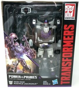 Transformers Generations Power of the Primes Leader Class Rodimus Unicronus