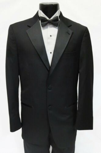 Boy/'s Tuxedo Suit Black,White 3 button Sizes 8-20 Come with Pants Miano Moda