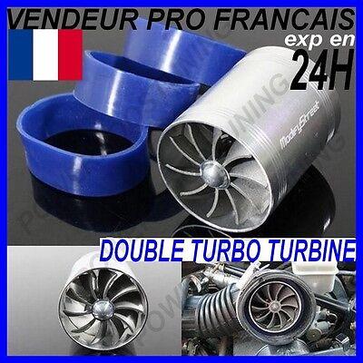 BOITE AIR FILTRE ADMISSION DIRECTE TYPE BMC CARBONE AVEC TUBE /& TURBO DE FILTRE