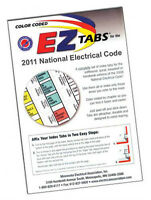 2011 Color Coded Ez Tabs Nec Code Book Nfpa National Electrical Code Free Ship
