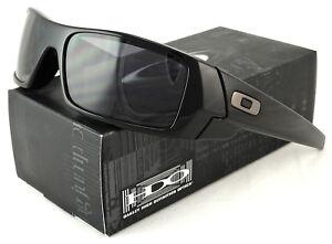 1032adabf6 Image is loading New-Oakley-Gascan-Sunglass-Polished-Black-l-Grey-