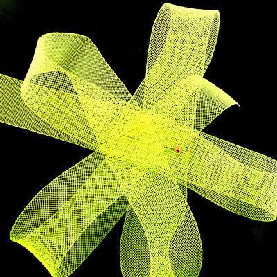 "Crinoline Trim Neon Yellow Horsehair Braid 4 yards Piece  2/"" 5 cm"