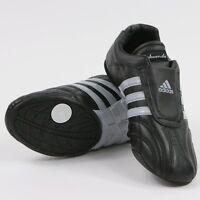 Adidas Taekwondo Adilux Black Leather Shoes - Tlx01-bk