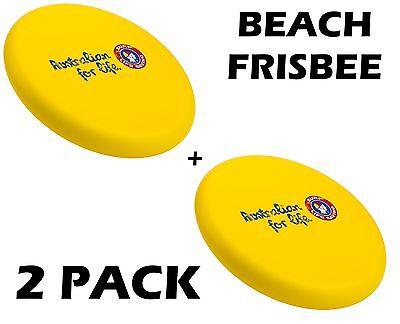 Steeden Surf Life Saving Association Beach Frisbee (2 Pack) + Free Aus Delivery