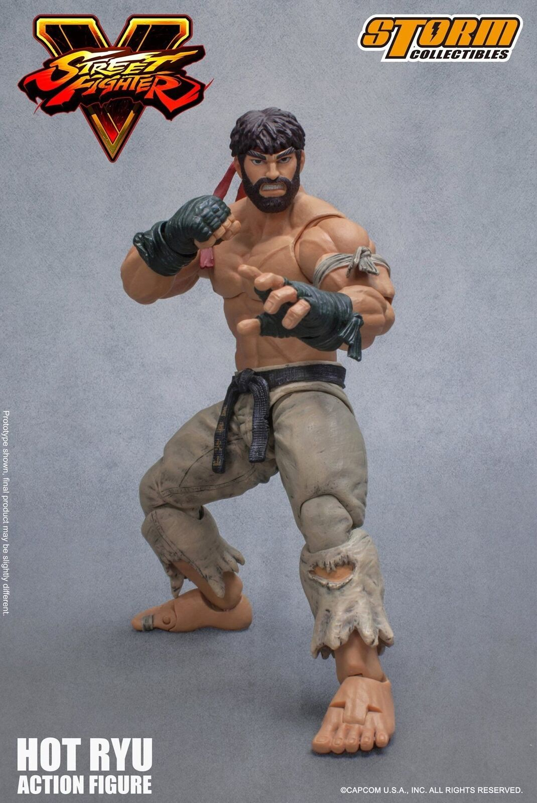 Storm Collectibles Straße Fighter V- heiß Ryu Wirkung Figure