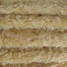 "1//6 yd 785S//C Silver Grey INTERCAL 3//4/"" Medium Dense Curly German Mohair Fabric"