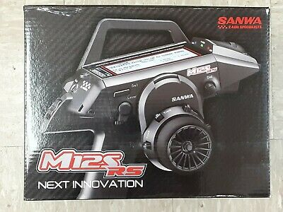 Sanwa 101A32361A M12S-Rs 4-Channel Tx with Rx-482 Receiver-No Servos