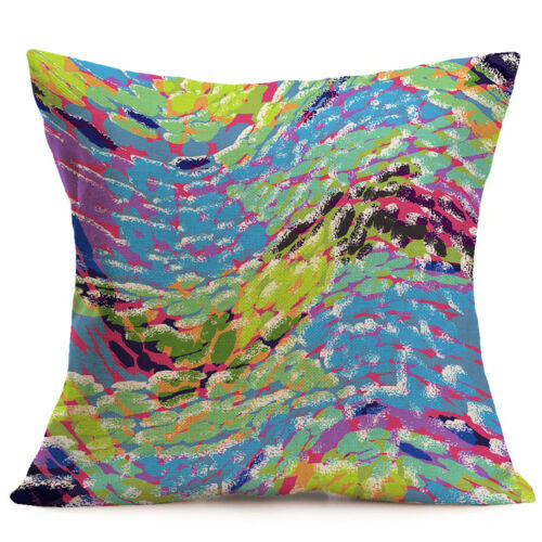 Art Coton Lin Taie d/'oreiller Bohemia canapé taille Throw Cushion Cover Home Decor