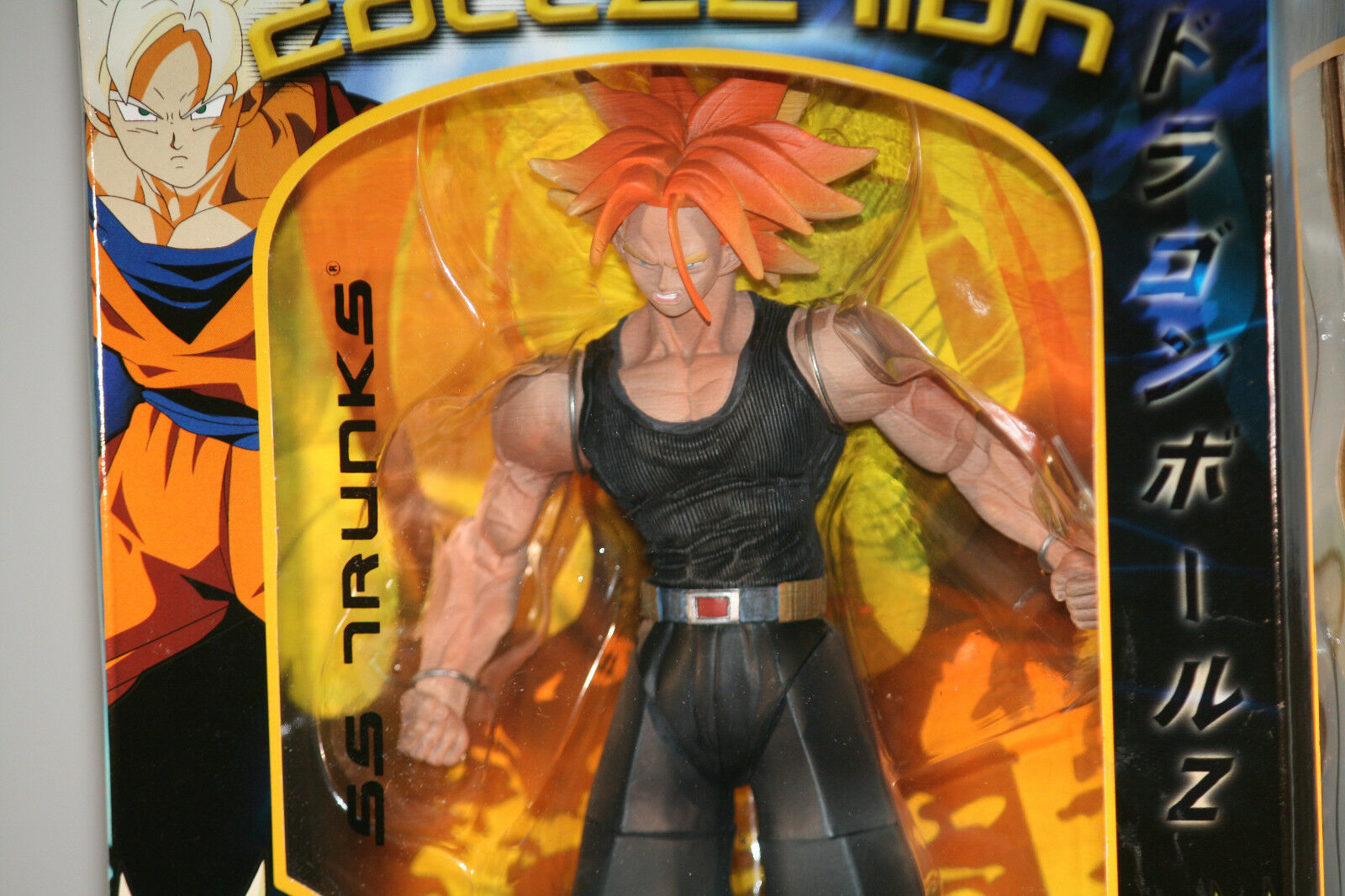 Dragonball Z MOVIE COLLECTION   UNSTOPABLE HEROES  SS TRUNKS  10  FIGURE Jakks