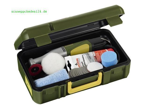PROXXON 28660 Jeu Polisseuse d'angle WP/E avec tous accessoires en valise NEUF