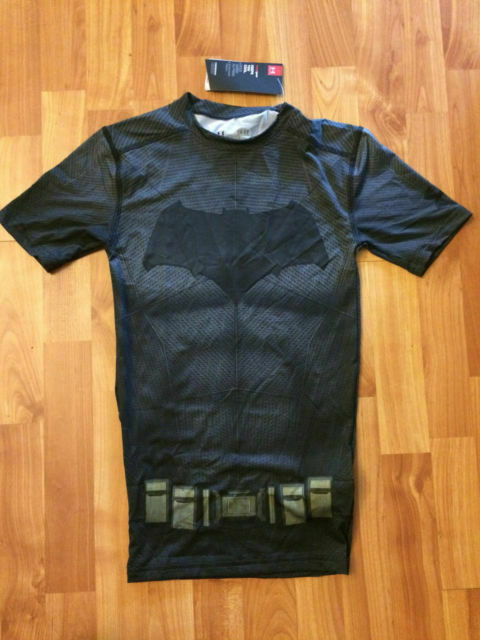 Under Armour® Alter Ego Batman Compression Shirt all size Free Shipping