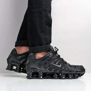 Details about Nike Shox TL Triple Black size 13. BV1127-001. R4 air max  vapormax flyknit