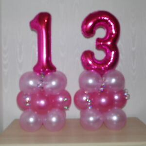 Image Is Loading 13th BIRTHDAY AGE 13 FEMALE GIRL FOIL BALLOON