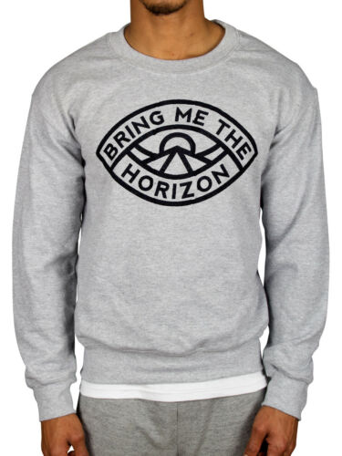 Official Bring Me The Horizon Eye Sweatshirt Sempiternal Shadow Moses BMTH Merch