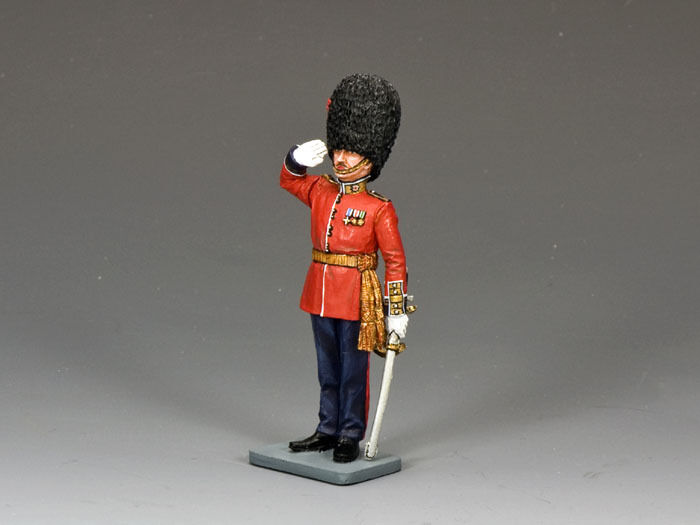 KING AND COUNTRY Ceremonial Series Saluting Guards Officer CE02 CE002
