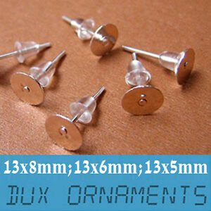 1000pcs-Surgical-Stainless-Steel-Flat-Pad-Post-Earring-Posts-and-Backs-Findings