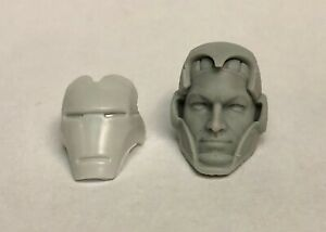 Marvel-Legends-ML-Iron-Man-Tony-Stark-Head-1-12-Scale-Custom-Cast