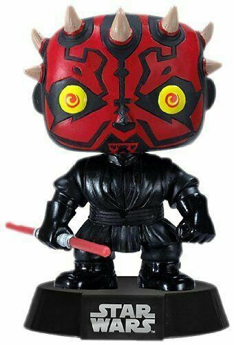 Funko POP Star Wars Darth Maul Vinyl Figure #09 with Protector