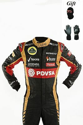 lotus kart race suit all new 2014 CIK/FIA LEVEL 2 (free balaclava and gloves)
