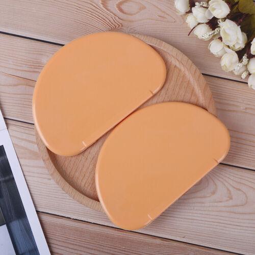 Flexible Plastic Dough Scraper Butter cake Tools Safe Plastic Kitchen Cutter DS