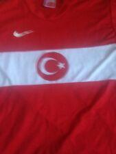 VTG Nike Authentic Turkey National Soccer Jersey Sz M Football Rare